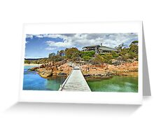 Freycinet Lodge Greeting Card