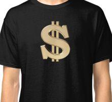 Dollar sign Classic T-Shirt