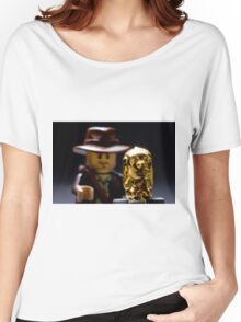 Indy and the Chachapoyan Fertility Idol Women's Relaxed Fit T-Shirt