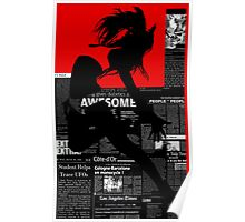 Red Paper Dance Poster