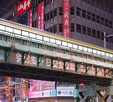 Night Train -Tokyo by kaizy
