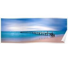 Shelly Beach Sunrise, Portsea Poster