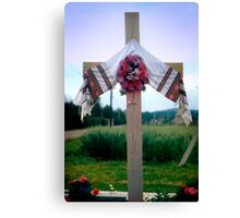Way Station Cross Canvas Print