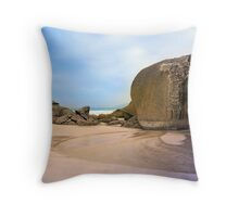 Squeaky Beach, Wilsons Promontory Throw Pillow