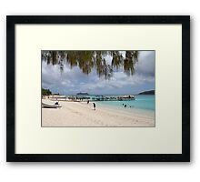 Mystery Island Framed Print