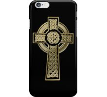 Celtic cross iPhone Case/Skin
