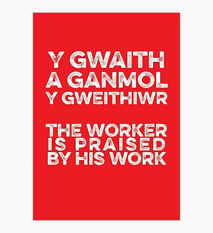 Proverb Photographic Print