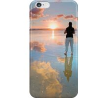 Standing on a Cloud - Wellington Point Qld Australia iPhone Case/Skin