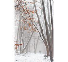Misty Winter Photographic Print