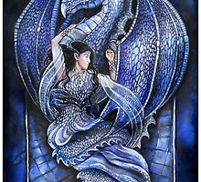 Dragon's bride - blue by jankolas