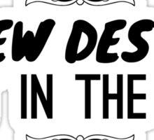 Screw Destiny Sticker