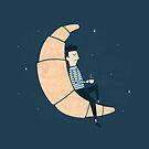 Ze Croissant Moon by Teo Zirinis