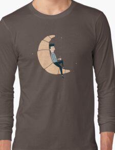 Ze Croissant Moon Long Sleeve T-Shirt
