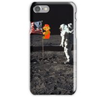 Super Mario On the Moon iPhone Case/Skin