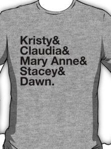 Experimental Dibblyset (Baby-sitter's Club) T-Shirt