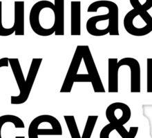 Experimental Dibblyset (Baby-sitter's Club) Sticker