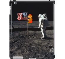 Super Mario On the Moon iPad Case/Skin