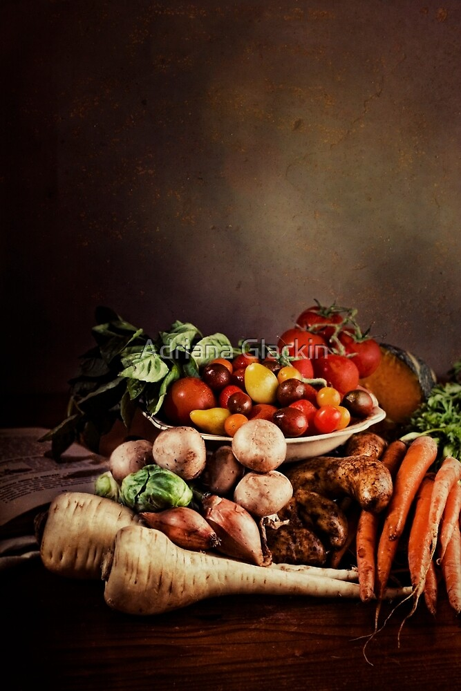 ~ Still Life with Vegetables ~ by Adriana Glackin
