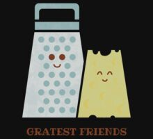Cheesy Friendship One Piece - Short Sleeve