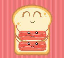 Hug the Bacon by AlessandroAru