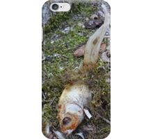 My goldfish has lost its color n°2 iPhone Case/Skin