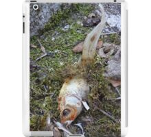 My goldfish has lost its color n°2 iPad Case/Skin