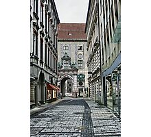 Munich Back Streets Photographic Print