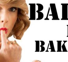Shake it off/ Bake it off, Taylor Swift Sticker