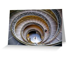 Staircases Greeting Card