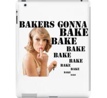 Shake it off/ Bake it off, Taylor Swift iPad Case/Skin