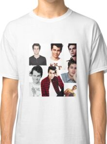 Dylan O'Brien Collage Classic T-Shirt