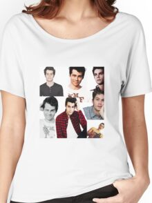 Dylan O'Brien Collage Women's Relaxed Fit T-Shirt