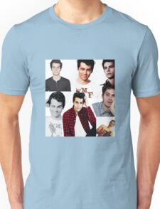Dylan O'Brien Collage Unisex T-Shirt