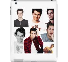 Dylan O'Brien Collage iPad Case/Skin