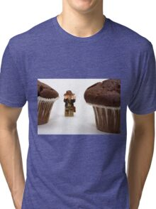 Cakes - why did it have to be cakes?? Tri-blend T-Shirt