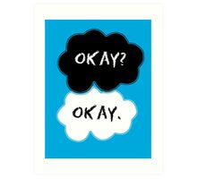 The Fault In Our Stars Clouds Art Print