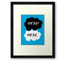 The Fault In Our Stars Clouds Framed Print
