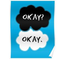 The Fault In Our Stars Clouds Poster