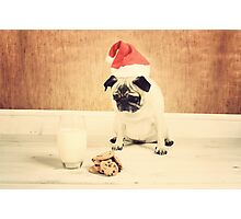 Honey is Santa Photographic Print