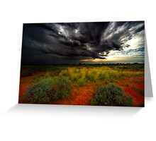 Australian Outback, NSW Greeting Card