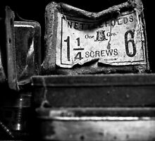 old screws by Lukas Carruthers