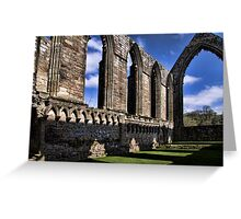 Bolton Abbey Priory Ruins Greeting Card