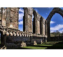 Bolton Abbey Priory Ruins Photographic Print