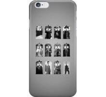 The Twelve Doctors iPhone Case/Skin