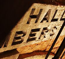 Hidden 'City Hall Chambers' sign by David Hill