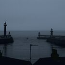 Whitby Harbour Pre-Dawn by shane22
