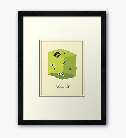 Gelatinous Cube Framed Print