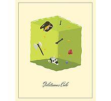 Gelatinous Cube Photographic Print