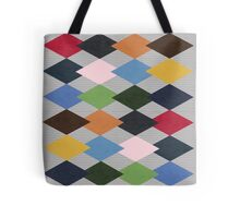 Colorful Diamond Patterns Tote Bag