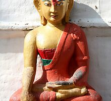 Buddhism statue by Peter Voerman